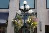18 sfeervolle - veel kleurige plantenbakken hangen in elke straat, plein, bij overheidsgebouwen, aan restaurants en de vele winkeltjes SAM_9070