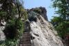 52 trappen die leiden naar het platform, op de top staan een Spaans fort en een gedenkteken ter ere van de Mapuches die de Cerro Sante Lucia Welen (lijdensberg) noemden