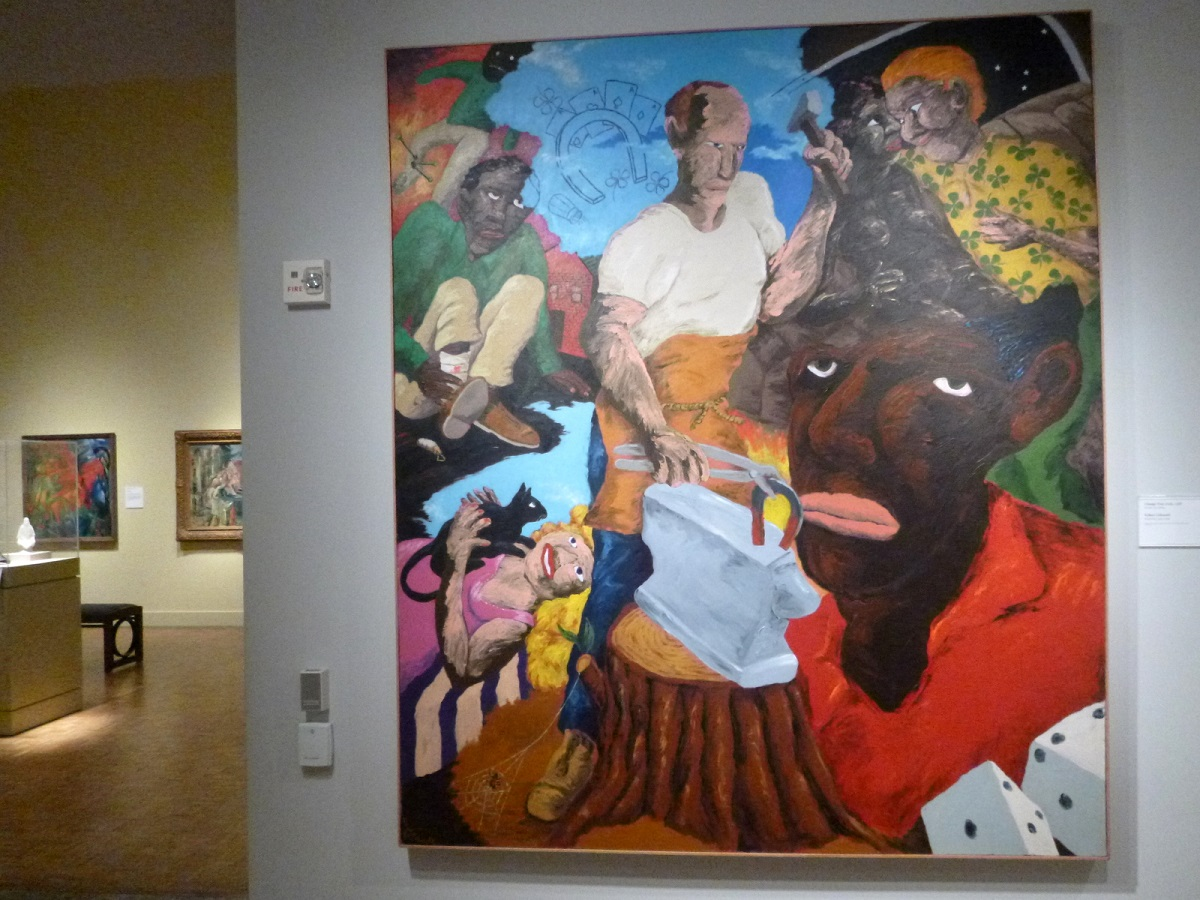21 Change Your Luck (1988 - Robert Colescott 1925-2009)