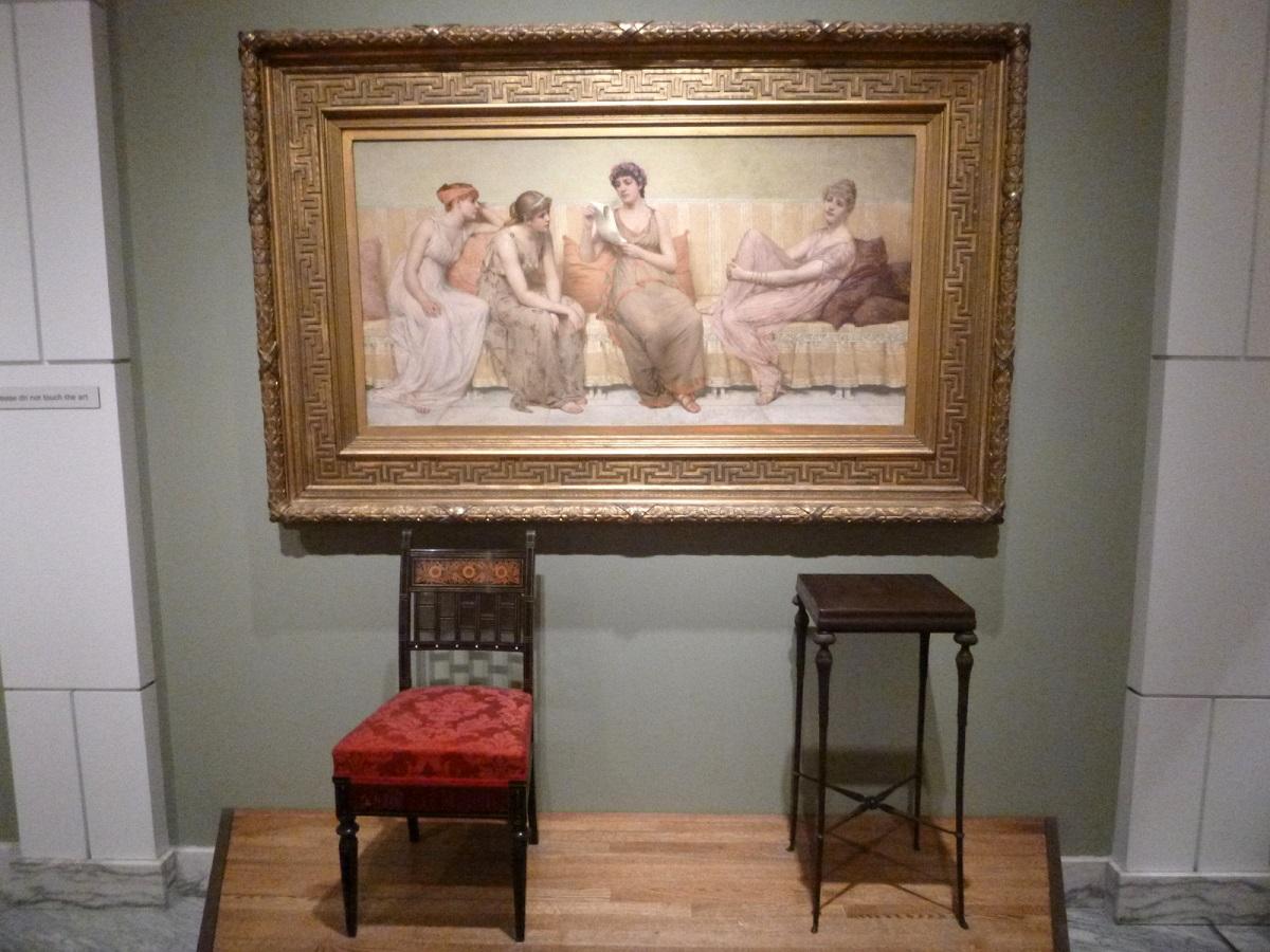 33 eerste schildering aangekocht door het Detroit Instituut of Arts