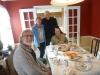 18 samen met Rod en Stefan, gaan we heerlijk samen lunchen