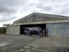 2 een van de drie hangars voor opslag van de raketten