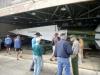 3 bezoek aan de hangar