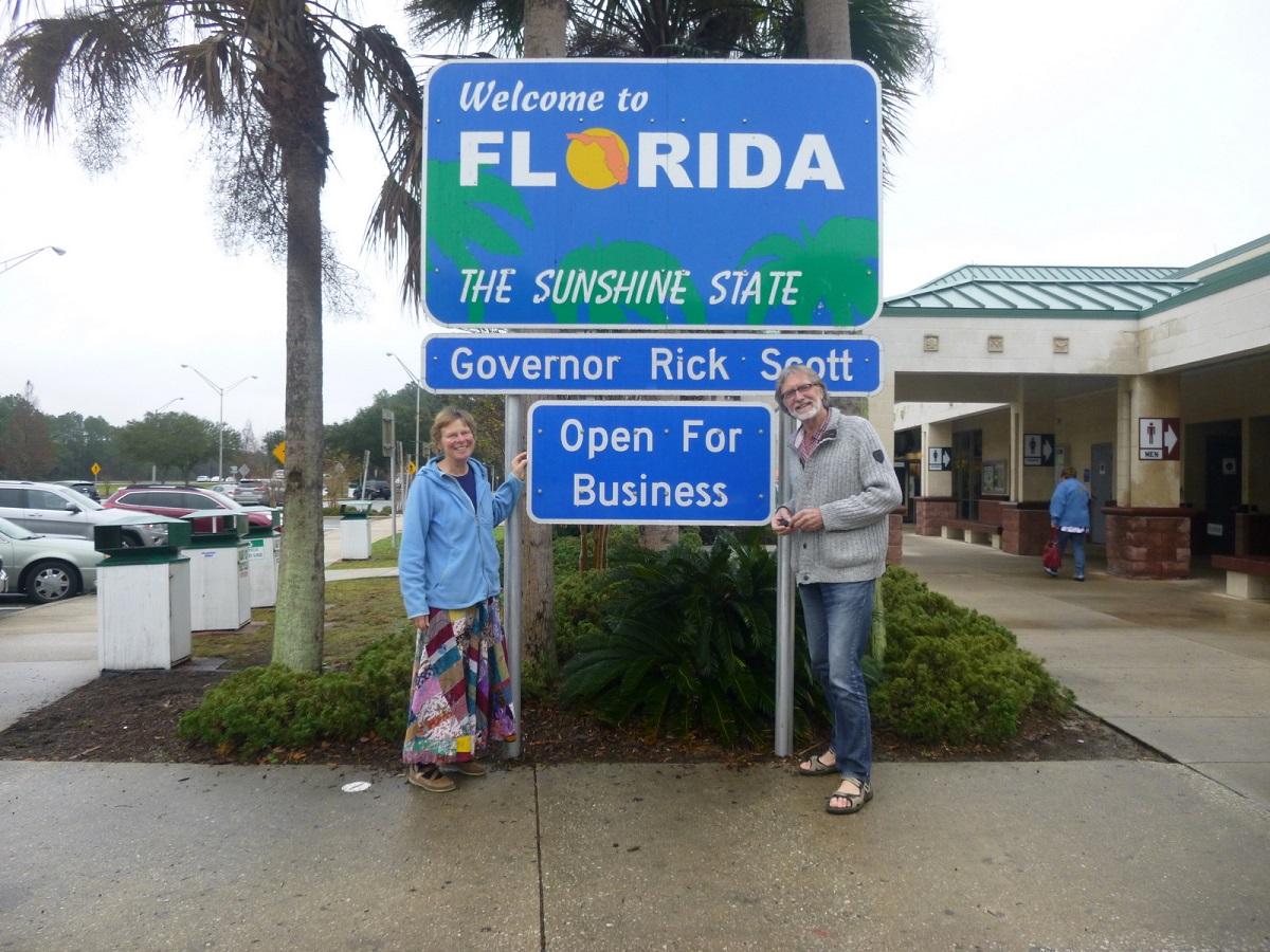 1 Welcome to Florida, The Sunshine State. Onze laatste Staat en inmiddels de 26e in de USA voor ons vertrek terug naar Nederland
