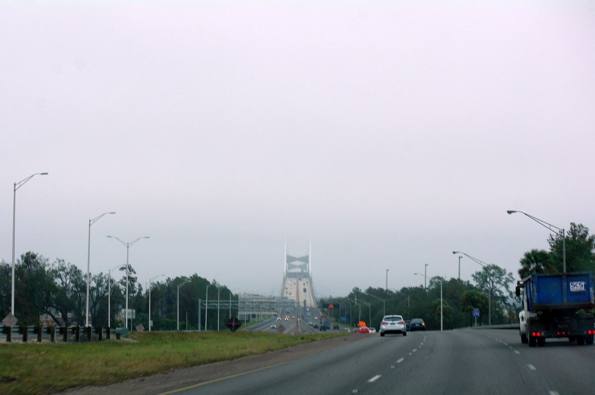 3 Route 95 bij Jacksonville