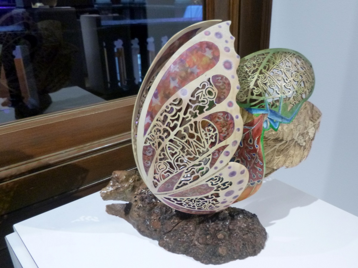 Butterfly life Circle - Expositie Collectors of Wood