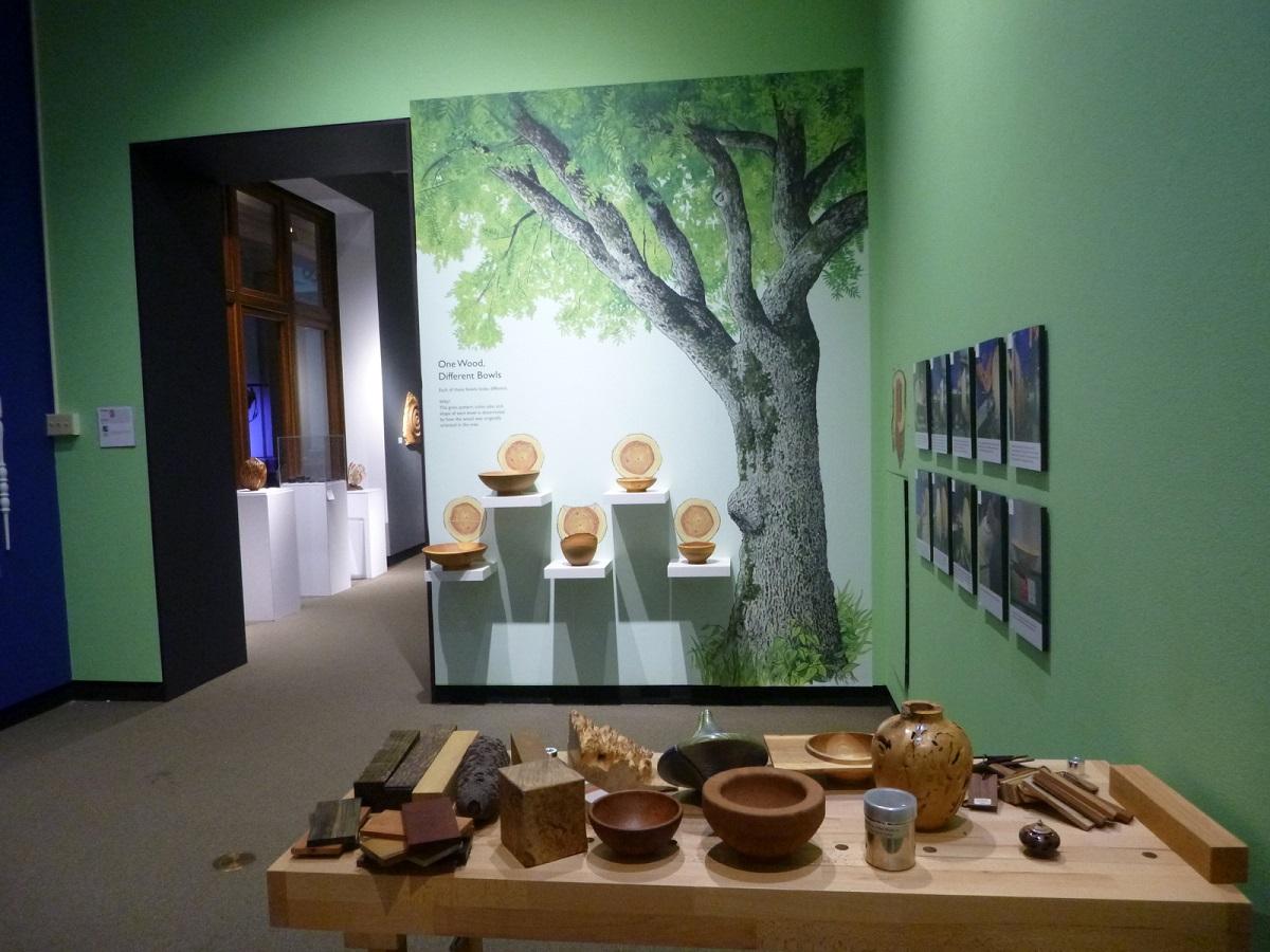 Expositie Collectors of Wood - Gallery of Wood Art in het Landmark Center (2)