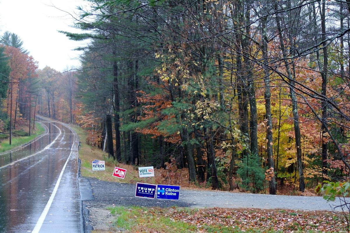Herfstsfeer en verkiezingen