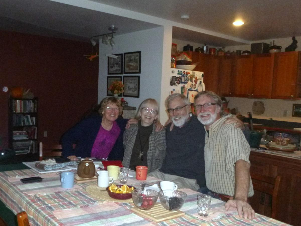 Op bezoek bij Ron en Lisa, vrienden en oud-collega uit de tijd dat we in Zimbabwe woonden en werkten (1985-1987)
