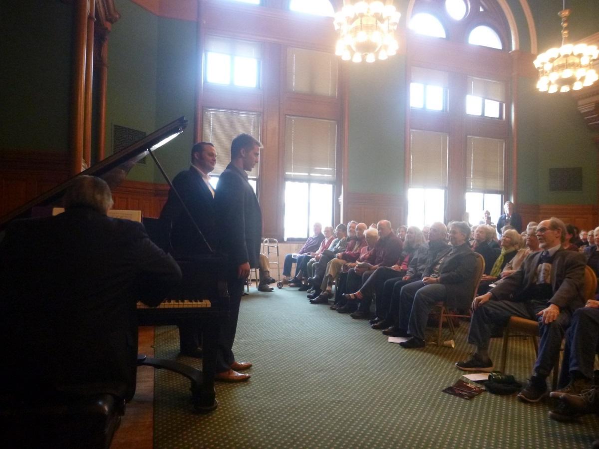 bijwonen van concert in het Landmark Center - Saint Paul