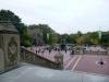 17 in het Central Park, prachtige fontein en omgeving, waar velen poseren