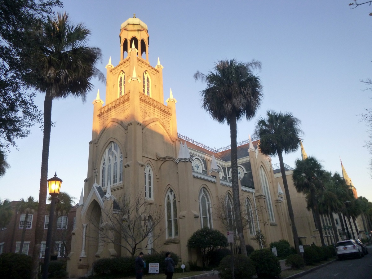 7 Congregation Mickve Israel. Dit is de op drie na oudste synagoge van de Verenigde Staten