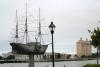 14 in 1819 vertrok het eerste stoomschip dat de Atlantische oceaan zou oversteken, de SS Savannah, vanuit de haven van Savannah