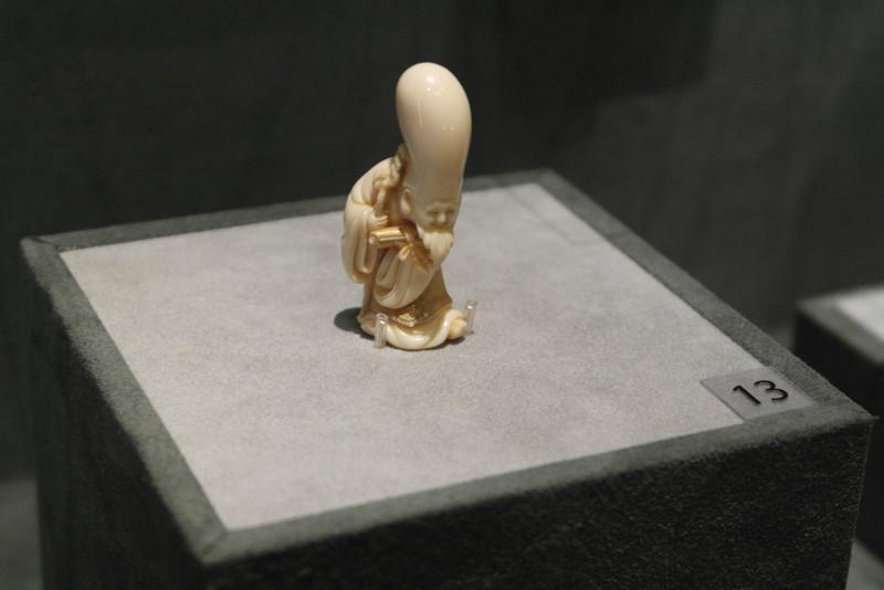 119-fukarokuju-bij-ryushi-komada-ivory-1997-52-cm