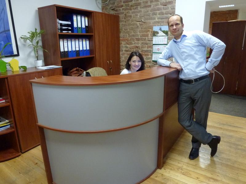 kantoor Witteveen+Bos; Arnoud en Maria