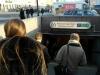 Metro ingang en straat onderdoorgang Nevsky prospect