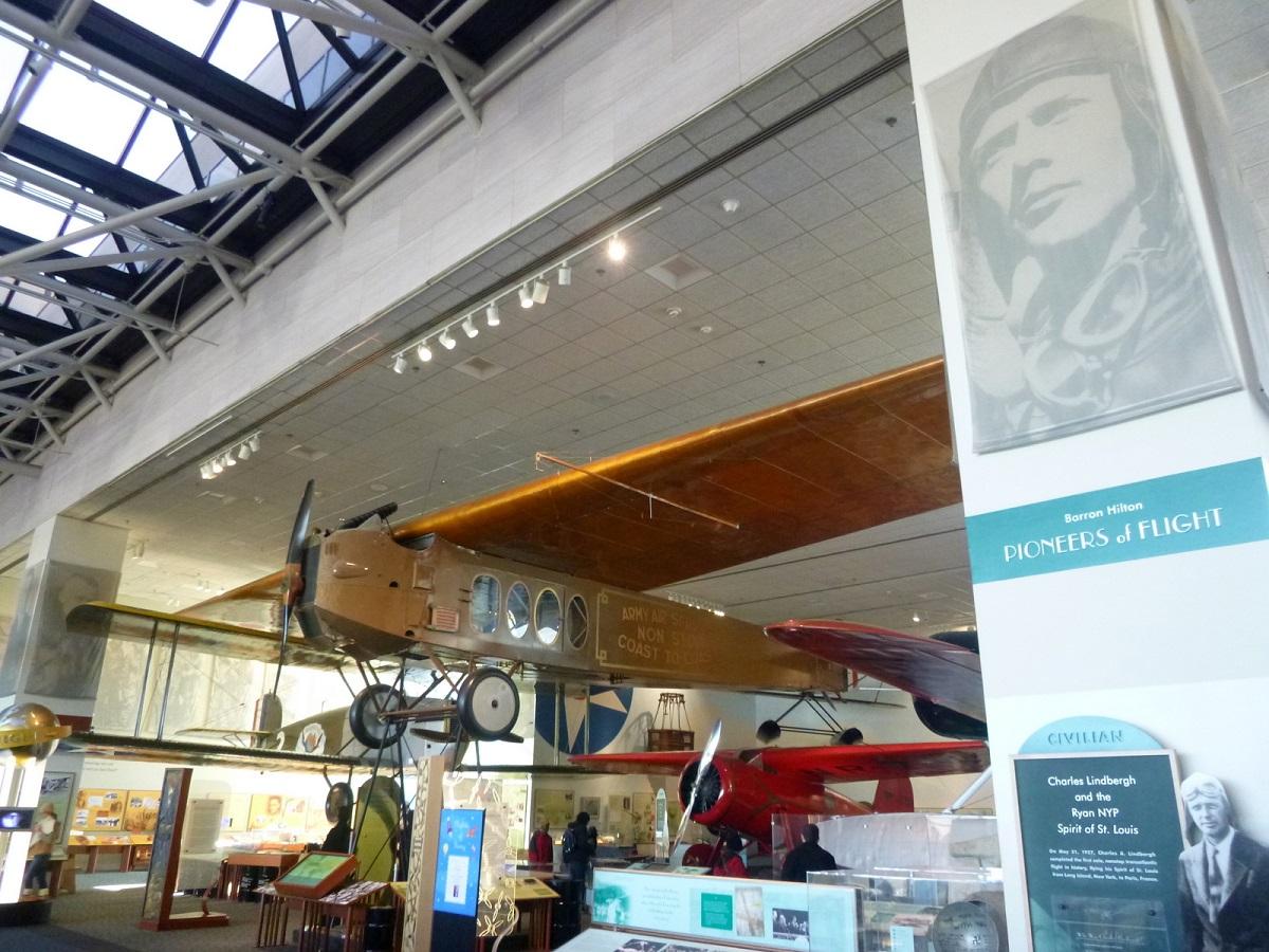 15 Baron Hilton, Fokker T-2, Pioneers of Flight