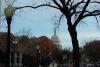 1 op weg naar het US Capitol Visitor Center, de Capitol Dome al in beeld