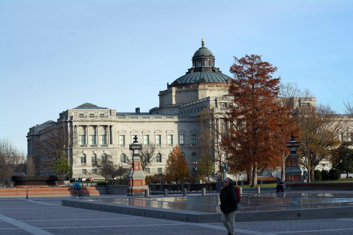 18 Thomas Jefferson Building, waarin de Library of Congress, open voor publiek sinds 1897