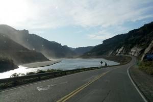 32 route 40 we gaan de bergen weer in, op weg naar Nahuel Huapi National Park