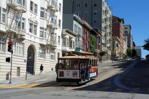 18 historisch straatbeeld, de Cable Car in China Town en omgeving SAM_7774