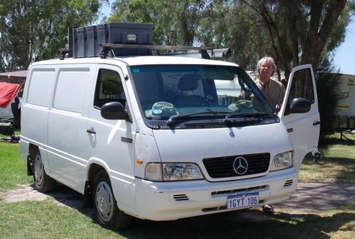 Mercedes kampeerbusje