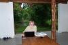 34 tijd voor contacten per email en voor tripadviser, promoten van Cabana Achiyacu Wasi