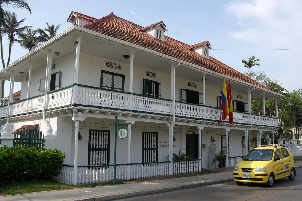 28 Casa Museo Rafael Nunez. Rafael Nunez een prominent sociaal-economische, religieuze en democratische Colombiaanse Hervormer van de 19 eeuw