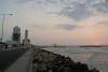 12 ondergaande zon aan de Avenida Santander - Caribbean Sea