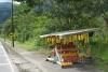 19 fruitverkoop langs de route E30 op weg naar Baños de Agua Santa