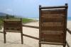 30 verboden in deze gebieden te zwemmen, rode vlaggen en borden waarschuwen voor verdrinkingsgevaar