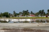 42 lokale zoutwinning - langs de kust - onderweg naar Cartagena