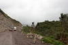 02 route E20 een prachtige route door de Andes, met nog een enkel gedeelte in constructie