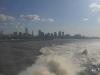 32 Buenos Aires verdwijnt achter de horizon.