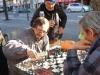 22 Schaakspel op straat