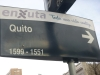36 Quito rechts af!