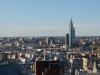 17 uitzicht over de stad Montevideo en zicht op Telecommunications Tower, 170 m hoge antenne