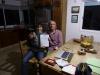 23 Op bezoek bij Soledad in Colonia del Sacramento en maken samen de boeking gereed voor de overtocht
