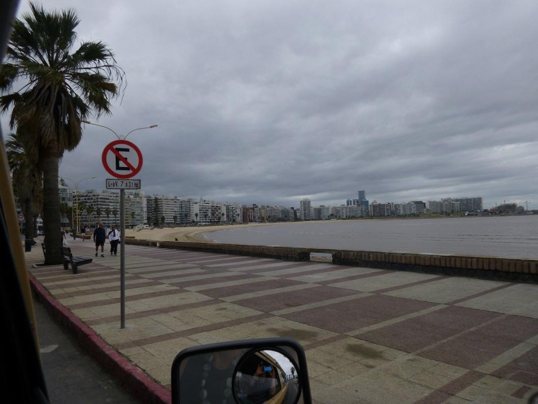 02 kustroute, nog in Montevideo