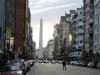 15 Spits van de Obelisk is op een ander moment weer in beeld (wat werken met spiegels-manupulatie kan doen)