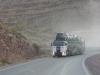 30 ook dit zware verkeer klimt door deze pass Cuesta Lipan