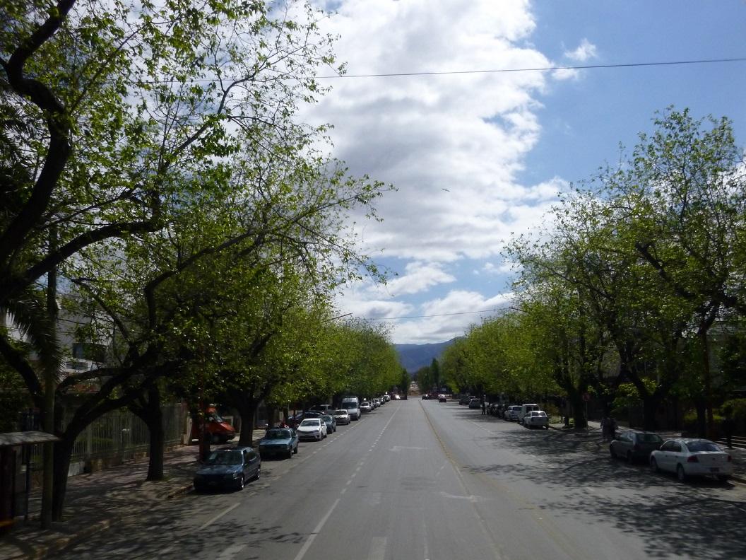 01 Mendoza een groene stad met veel parken in een omgeving die alle karakteristieken heeft van een woestijn