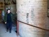 23 oorspronkelijke gemetselde wijnvaten, opgebouwd vanuit de wijnkelder tot bovengronds