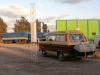 08 we hebben 's nachts in Ceres op de parkeerplaats van Shell geslapen. Samen met vele vrachtwagens een drukbezochte rustplaats en waar ieder voor dag en dauw weer vertrekt