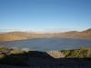 zicht op een meer, onderweg langs route 40