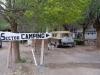 in Barrancas gaan we kamperen in El Domuyo, Hosteria, Restaurante, Camping