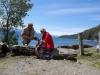 04 picknicken aan Lago Traful en plannen onze route- Circuito Grande, een panorama route tot aan Villa La Angostura