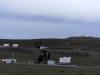 Voor ons einde van route 40 bij afslag Rio Gallegos ja knikkers, olie velden op route 3 naar Chili