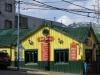 een van de eerste gebouwen gebouwd door de gevangenen, nu een restaurant
