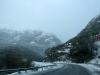 25 route terug door de bergen